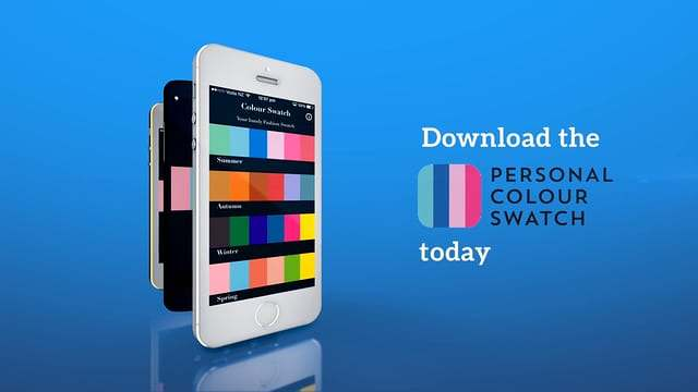 image-Holley Banks Personal Stylist – Colour Swatch app Infographic